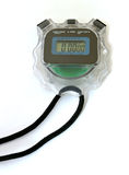 digital stopwatch Arkivfoton