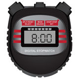 Digital stopwatch Royalty Free Stock Photos