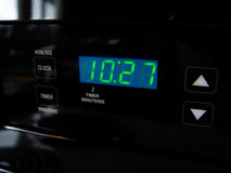 Digital Stove Clock Stock Image