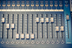 Digital studio mixer Stock Photography