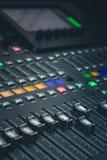 The digital studio mixer Stock Photography