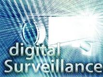 Digital surveillance Royalty Free Stock Photos