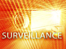 Digital surveillance Royalty Free Stock Image