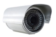 Digital surveillance cam Stock Photo