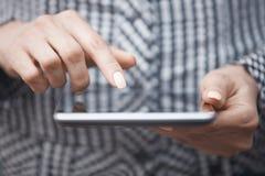 Digital-tabler Benutzer stockfotos