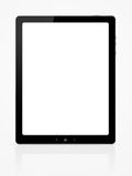 Digital tablet. Illustration on blank PC tablet stock illustration