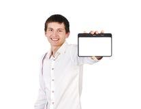 Digital tablet fotografering för bildbyråer