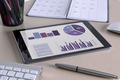 Digital tablet Royaltyfria Bilder