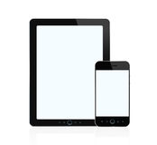 Digital Tablet And Smart Phone Royalty Free Stock Images