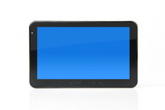 Digital tablet with clipping path for the screen Stock Images