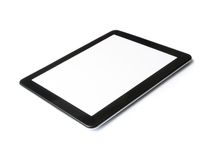 Digital tablet computer isolated on white background Royalty Free Stock Image