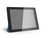 Digital tablet 3d render isolated on white Royalty Free Stock Photography