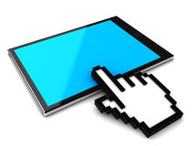 Digital tablet pc Stock Photos