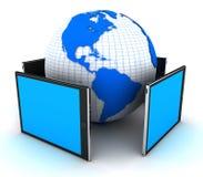 Digital tablet pc stock illustration