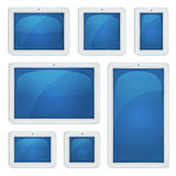 Digital Tablet PC Set Stock Photos