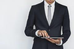Digital Tablet Social Media Internet Business Concept Stock Images
