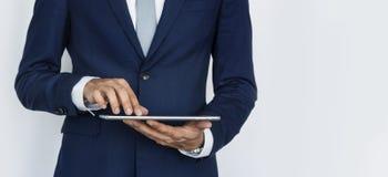 Digital Tablet Social Media Internet Business Concept Stock Image