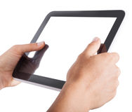Digital tablet technology Royalty Free Stock Image