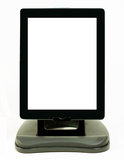 Digital tablet with vertical position on stand Royalty Free Stock Image
