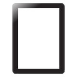 Digital tablet on white Royalty Free Stock Image