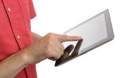 Digital-Tablettenabschluß oben Lizenzfreies Stockbild