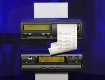 Digital Tachograph Royalty Free Stock Photography