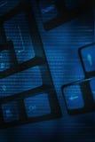 Digital tangentbord Arkivfoton
