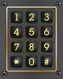 Digital-Tastatur Stockbilder