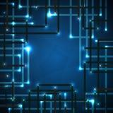 Digital technologies Stock Image