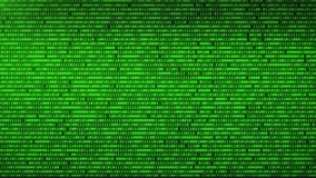 Digital technologies Blue Binary code random numbers glowing on a black background. You can use backgrounds for vfx, blog, vlogs, presentations, commercials stock illustration