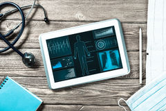 Digital technologies in medicine Stock Photography