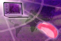 Digital technology stock image