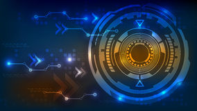 Digital technology abstract background Stock Photography