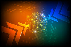 Digital technology abstract background Royalty Free Stock Photo