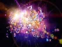 Digital Technology Acceleration Royalty Free Stock Photography