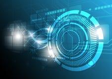 Digital technology concept design Stock Image