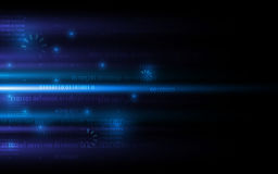 Digital technology networking internet sci fi concept background design Royalty Free Stock Photos