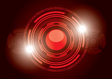 Digital Technology Vector Background Royalty Free Stock Photography