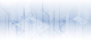 Digital technology world. Business virtual concept. Vector background vector illustration
