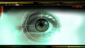 Digital technologycal backdrop Stock Photo