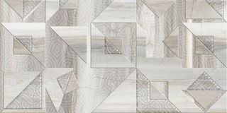 Digital tegelplattadesign Keramiskt vägg och golv vektor illustrationer