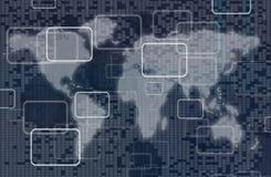 Digital teknologi royaltyfri illustrationer