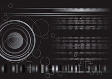 digital teknologi för binär kod vektor illustrationer