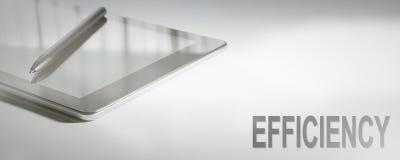 Digital teknologi för EFFEKTIVITETSaffärsidé Grafiskt begrepp royaltyfri bild
