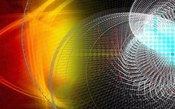 digital teknologi för kurva Royaltyfri Fotografi
