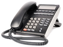 Digital telephone over white Royalty Free Stock Photos
