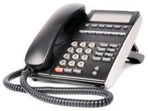 Digital telephone over white Royalty Free Stock Photos