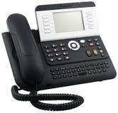 Digital telephone set, 10 soft keys Royalty Free Stock Image