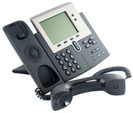 Digital telephone set, off-hook Stock Photography