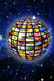 Digital television Royalty Free Stock Photography